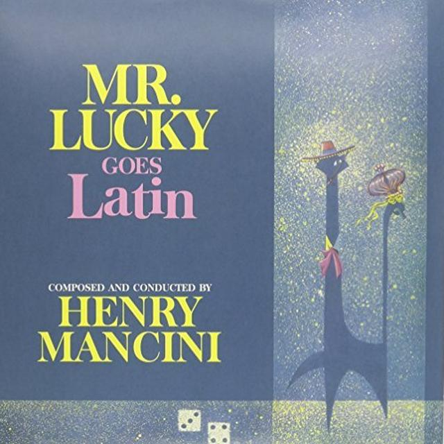 MR. LUCKY GOES LATIN (DARK BLUE VINYL) / O.S.T. Vinyl Record