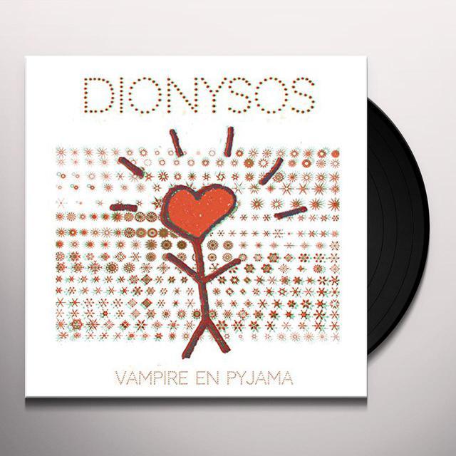 Dionysos VAMPIRE EN PYJAMA Vinyl Record
