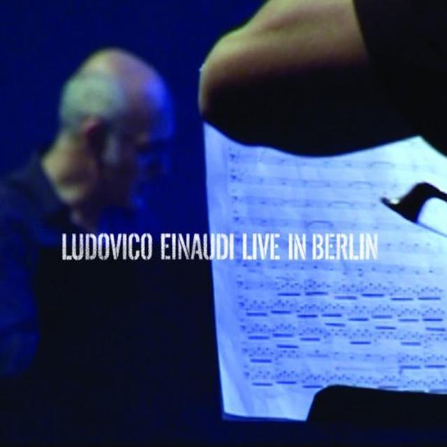 Ludovico Einaudi LIVE IN BERLIN Vinyl Record - UK Import
