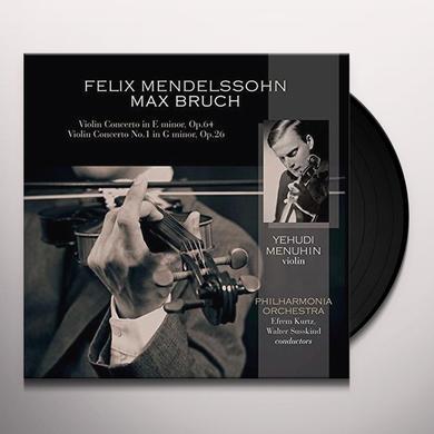 Yehudi Menuhin / Philharmonia Orchestra MENDELSSOHN / BRUCH: VIOLIN CTO IN E MINOR OP 64 / Vinyl Record