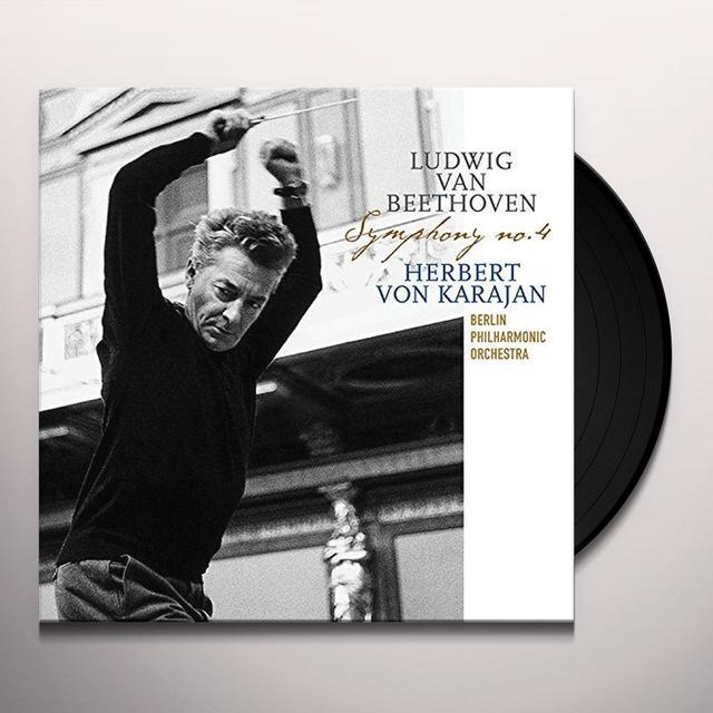 Herbert Von Karajan / Berlin Philharmonic Orch BEETHOVEN: SYMPHONY 4 Vinyl Record