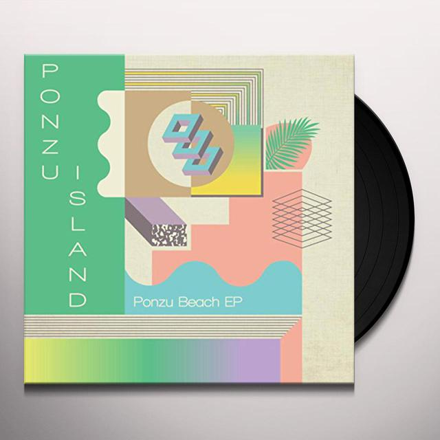 PONZU ISLAND PONZU BEACH EP Vinyl Record - UK Import