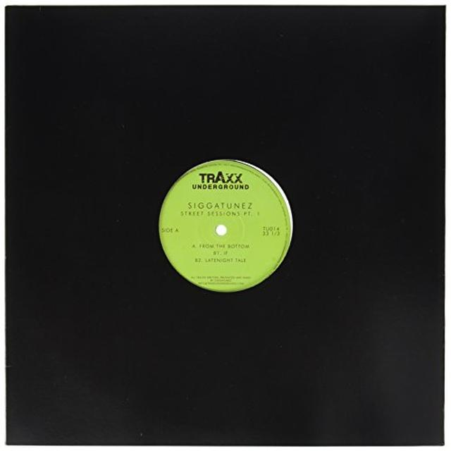SIGGATUNEZ STREET SESSIONS PT 1 Vinyl Record - UK Import