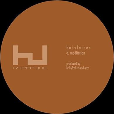 BABYFATHER MEDITATION Vinyl Record - 10 Inch Single, UK Release