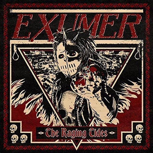 Exumer RAGING TIDES Vinyl Record - Holland Import