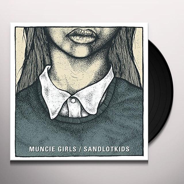 MUNCIE GIRLS / SANDLOT KIDS SPLIT 7 Vinyl Record - UK Import