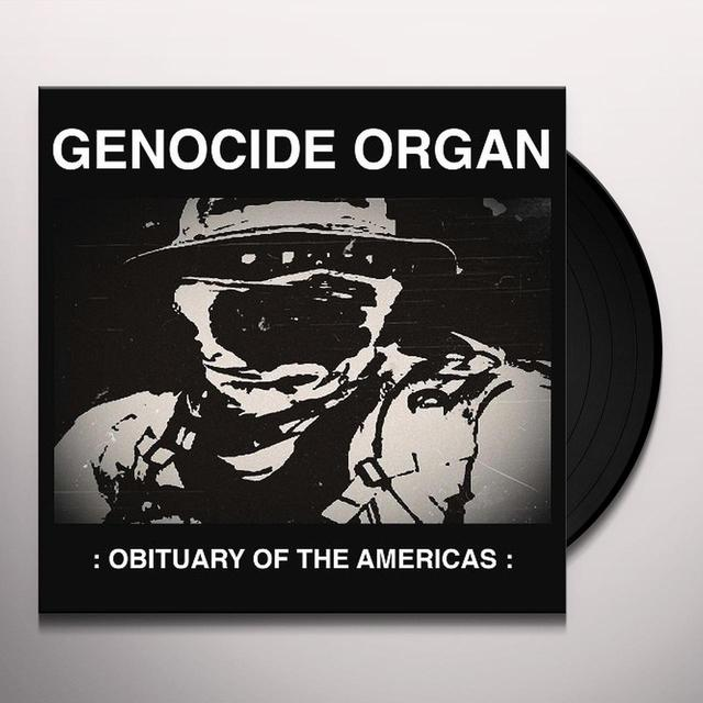 GENOCIDE ORGAN OBITUARY OF THE AMERICAS Vinyl Record