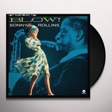 Sonny Rollins BLOW! Vinyl Record - UK Release