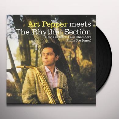 Art Pepper RHYTHM SECTION Vinyl Record