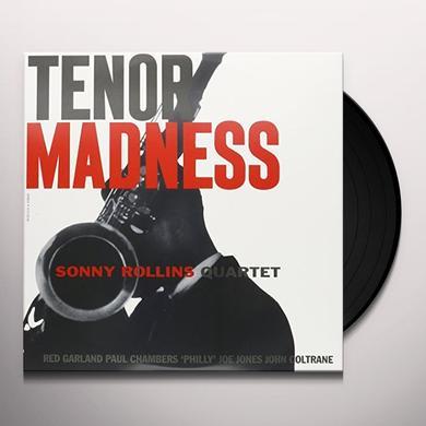 Sonny Rollins TENOR MADNESS Vinyl Record - UK Import