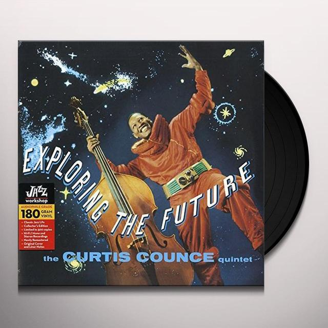 Curtis Quintet Counce EXPLORING THE FUTURE Vinyl Record