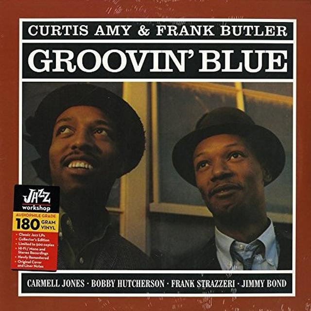 Curtis Amy & Frank Butler GROOVIN BLUE Vinyl Record
