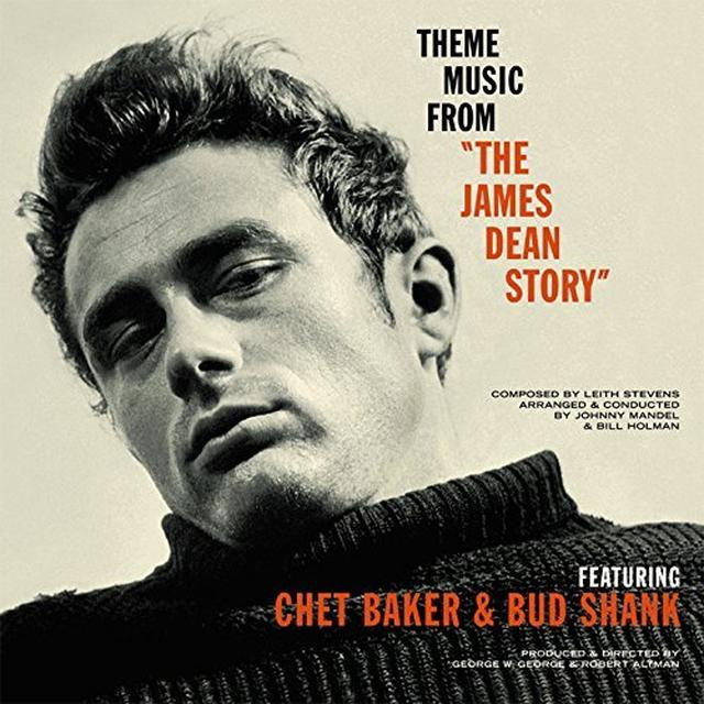 Chet Baker & Bud Shank THEME MUSIC FROM THE JAMES DEAN STORY Vinyl Record