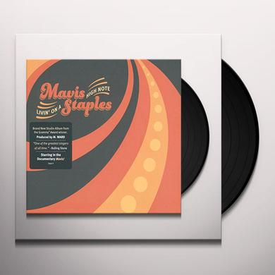 Mavis Staples LIVIN ON A HIGH NOTE Vinyl Record