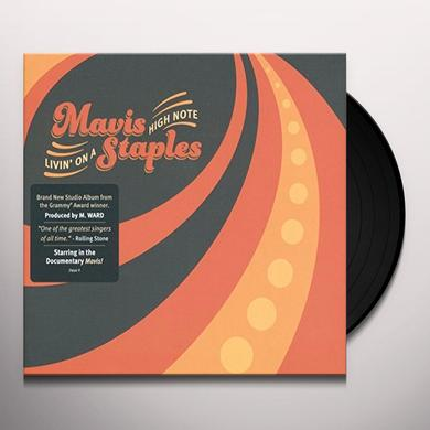 Mavis Staples LIVIN ON A HIGH NOTE Vinyl Record - UK Import