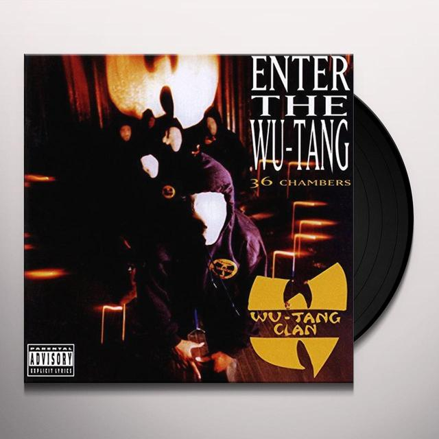 ENTER THE WU-TANG CLAN (36 CHAMBERS) Vinyl Record - Holland Import