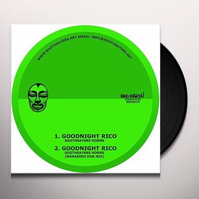 SOOTHSAYERS HORNS GOODNIGHT RICO Vinyl Record - UK Release