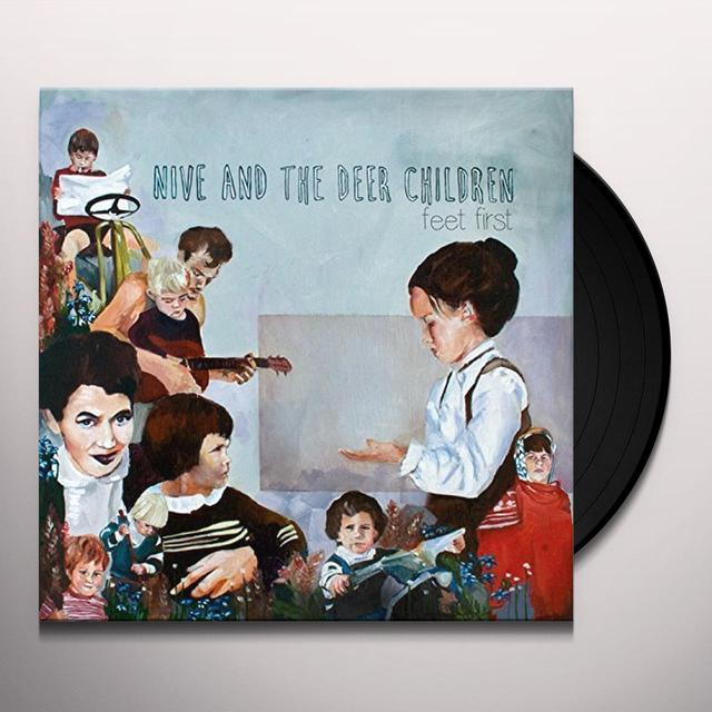 NIVE & THE DEER CHILDREN FEET FIRST Vinyl Record
