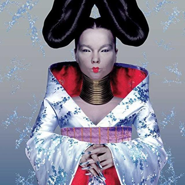 Bjork HOMOGENIC Vinyl Record - Holland Import