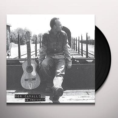 Don Cavalli DE PRODUNDIS (FRA) Vinyl Record