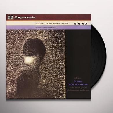 Carlos Maria Giulini & Philiharmonia Orchestra DEBUSSY LA MER & TROIS NOCTURNES Vinyl Record - 180 Gram Pressing