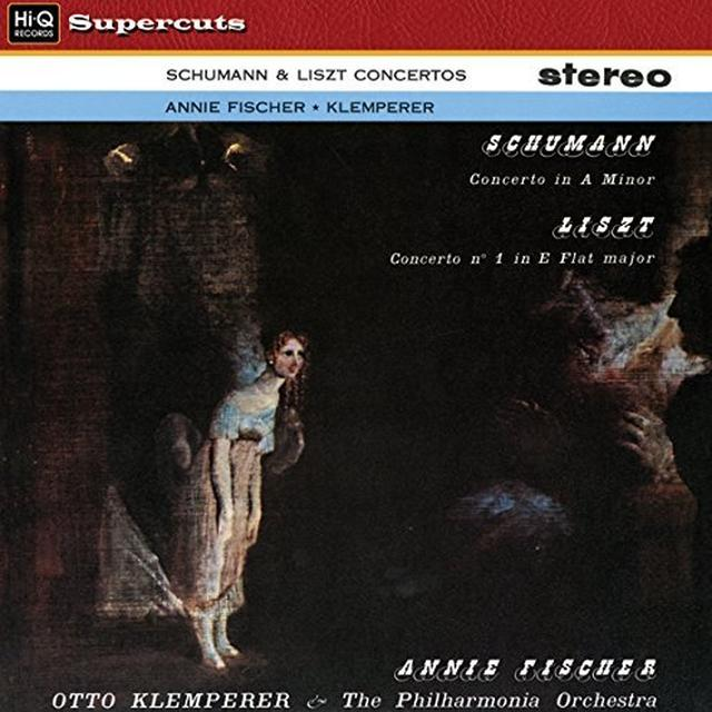 Otto Klemperer & Philharmonia Orchestra SCHUMANN & LISZT CONCERTOS Vinyl Record - 180 Gram Pressing