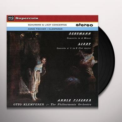 Otto Klemperer & Philharmonia Orchestra SCHUMANN & LISZT CONCERTOS Vinyl Record