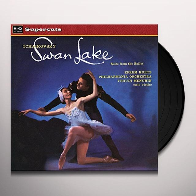 Efrem Kurtz & Philharmonia Orchestra TCHAIKOVSKY SWAN LAKE SUITE FROM THE BALLET Vinyl Record