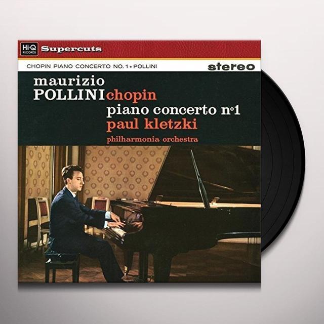 Paul Kletzki & Philharmonia Orchestra CHOPIN PIANO CONCERTO NO. 1 Vinyl Record