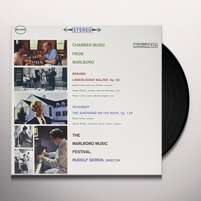 CHAMBER MUSIC FROM MARLBORO / VARIOUS Vinyl Record - 180 Gram Pressing