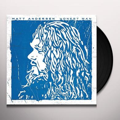 Matt Andersen HONEST MAN Vinyl Record