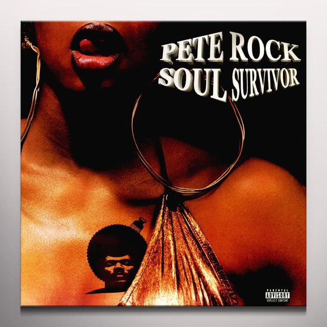 Pete Rock SOUL SURVIVOR / CHOCOLATE BOY WONDER Vinyl Record