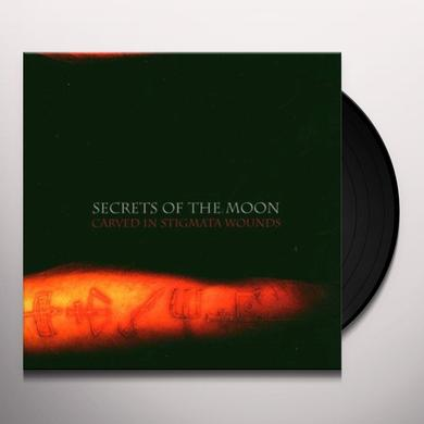 Secrets Of The Moon CARVED IN STIGMATA WOUNDS Vinyl Record