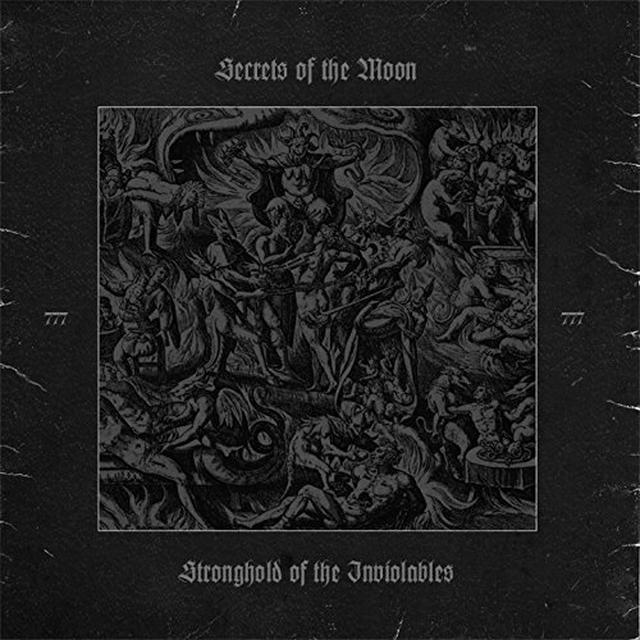 Secrets Of The Moon STRONGHOLD OF THE INVIOLABLES Vinyl Record