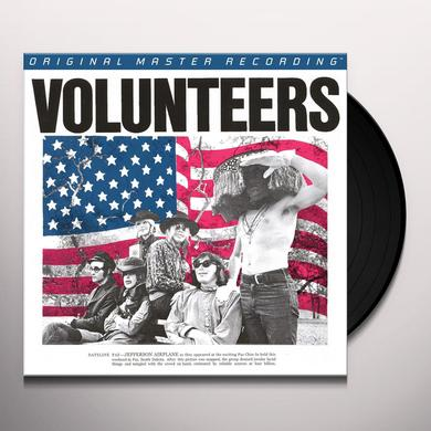 Jefferson Airplane VOLUNTEERS Vinyl Record - Limited Edition, 180 Gram Pressing