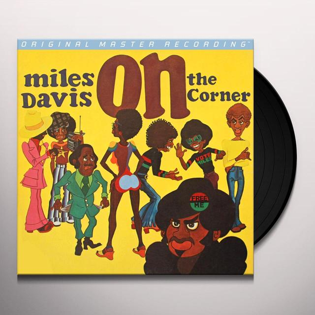 Miles Davis ON THE CORNER Vinyl Record - Limited Edition, 180 Gram Pressing