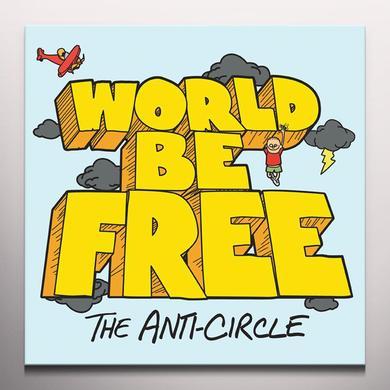 WORLD BE FREE Vinyl Record - Colored Vinyl, Orange Vinyl