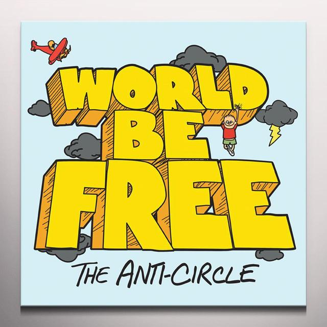 WORLD BE FREE Vinyl Record - Colored Vinyl, Orange Vinyl