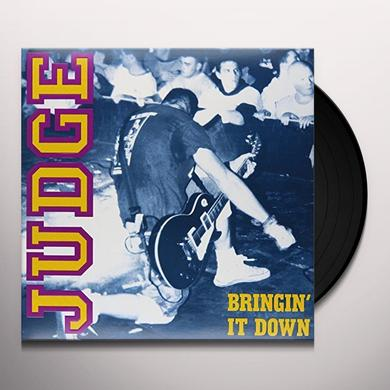 Judge BRINGIN IT DOWN Vinyl Record