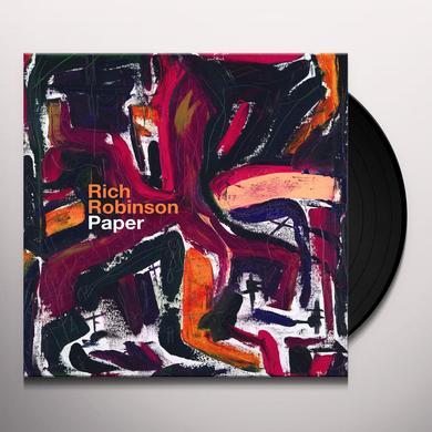 Rich Robinson PAPER Vinyl Record - Gatefold Sleeve