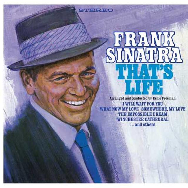 Frank Sinatra THAT'S LIFE Vinyl Record