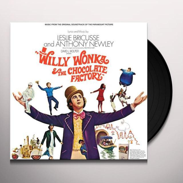 Charlie and the Chocolate Factory WILLY WONKA & THE CHOCOLATE FACTORY / O.S.T. Vinyl Record
