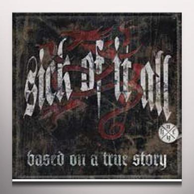Sick Of It All BASED ON A TRUE STORY Vinyl Record - White Vinyl