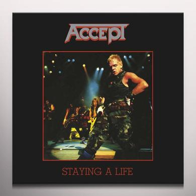 Accept STAYING A LIFE Vinyl Record