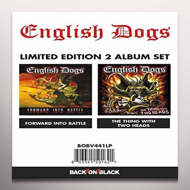 English Dogs FORWARD INTO BATTLE/THING WITH TWO HEADS Vinyl Record