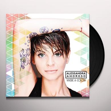 Alessandra Amoroso VIVERE A COLORI (PICTURE DISC) Vinyl Record - Picture Disc, Italy Import