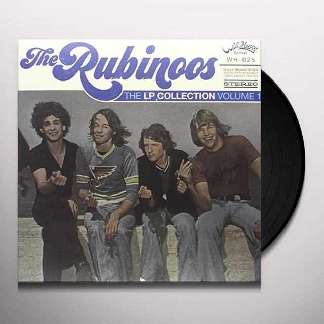 Rubinoos LP COLLECTION VOL 1 Vinyl Record - Limited Edition, Italy Import