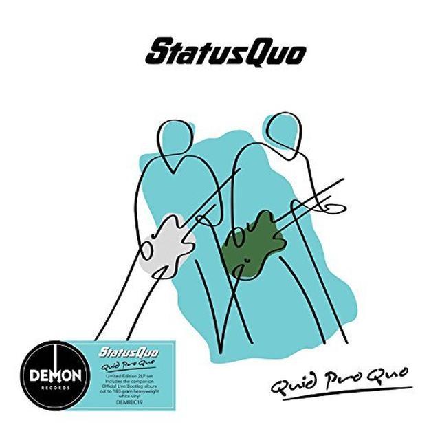 Status Quo QUID PRO QUO Vinyl Record