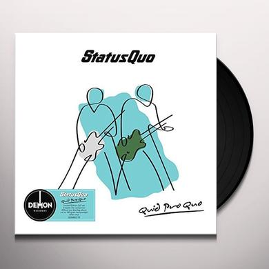 Status Quo QUID PRO QUO Vinyl Record - UK Import