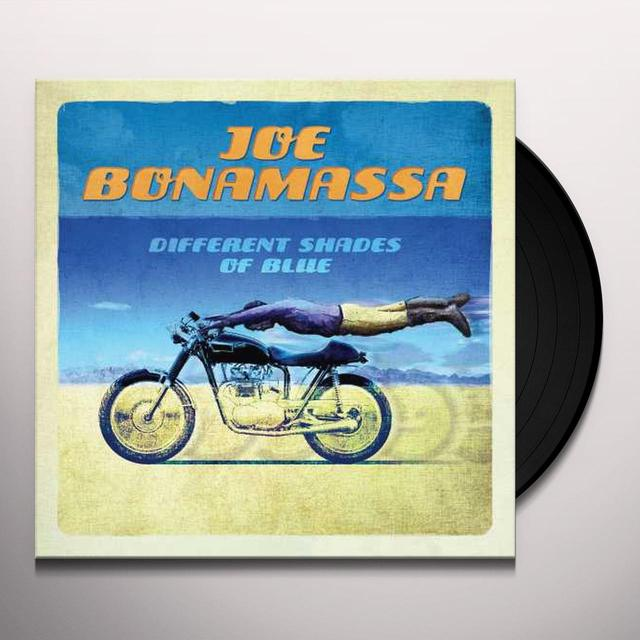 Joe Bonamassa DIFFERENT SHADES OF BLUES Vinyl Record